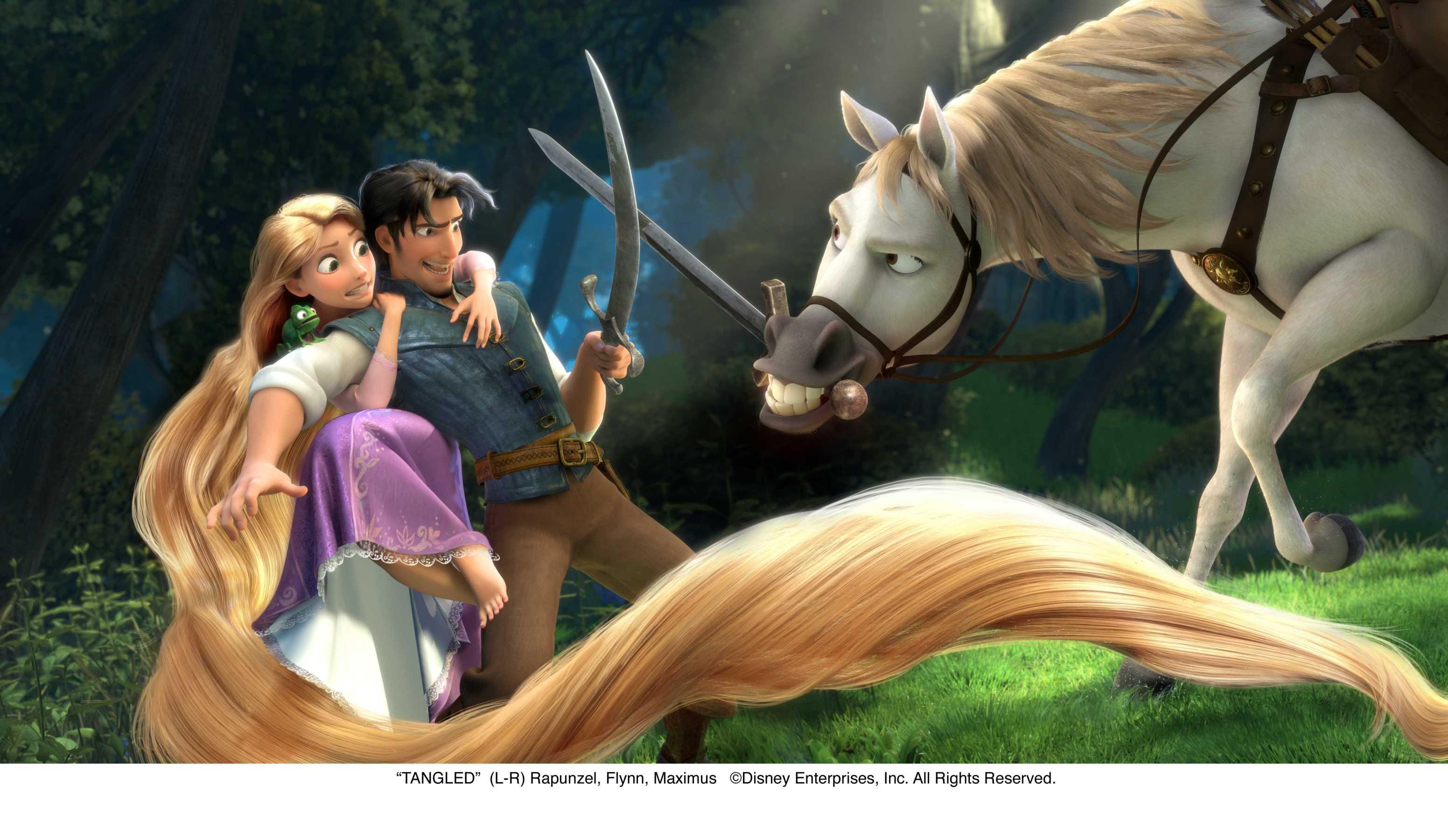 Disney raiponce page 9 - Raiponce cheval ...