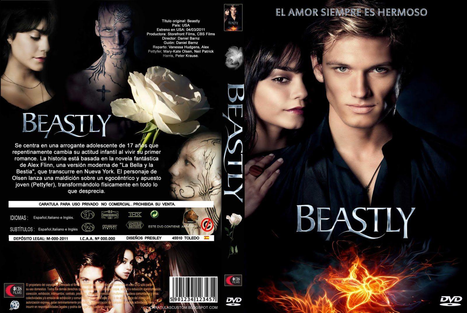 amazon pelicula dvd beastly español
