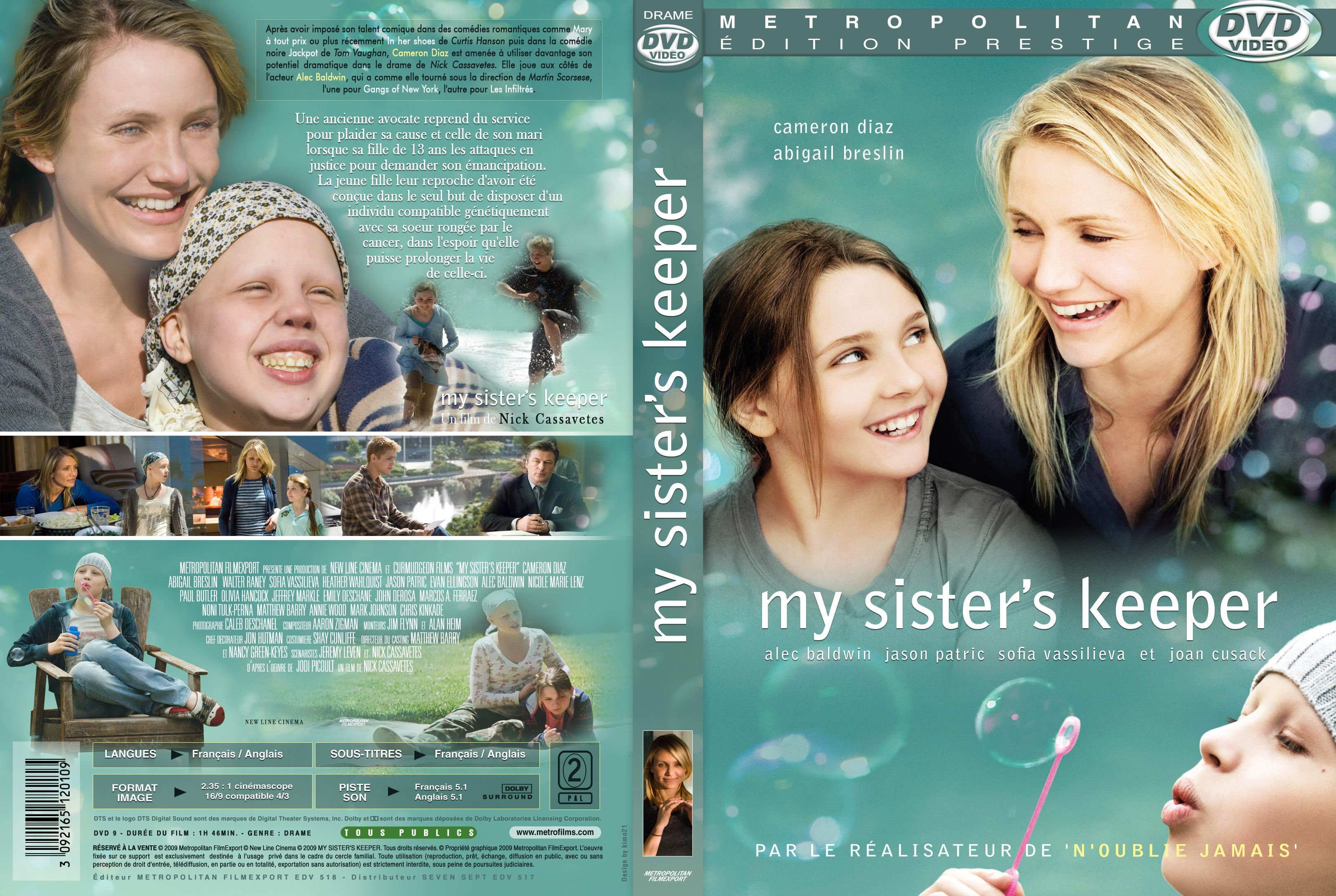 plot overview of my sisters keeper 'my sister's keeper' | summary she lives in an apartment with her sister and loves her work c summary which include my sister's keeper.